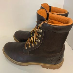 Men's Brown Timberland Boots Size 12